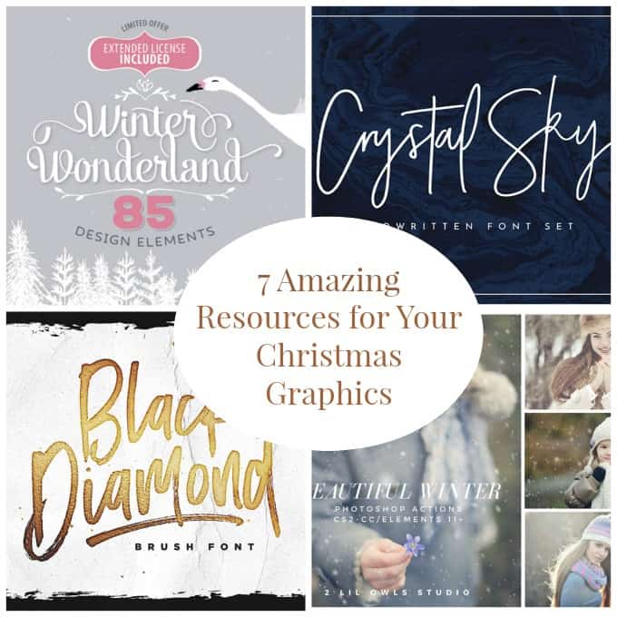 7 Amazing Resources to Rock Your Christmas Graphics