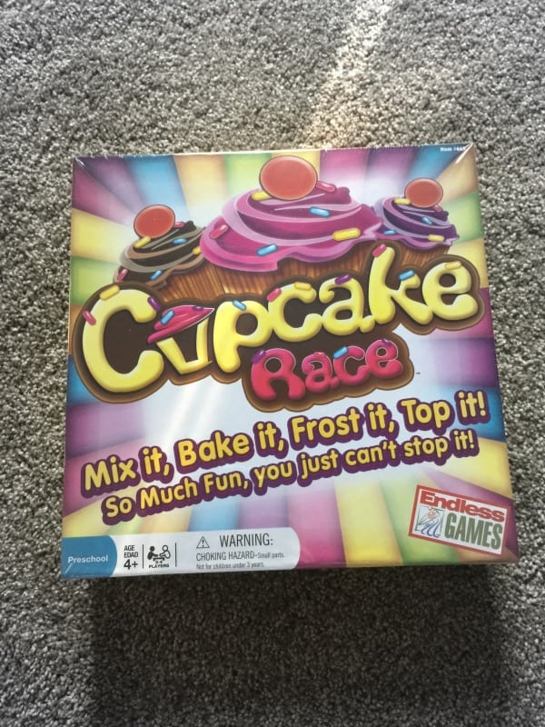 Cupcake Race Board for Kids by Endless Games