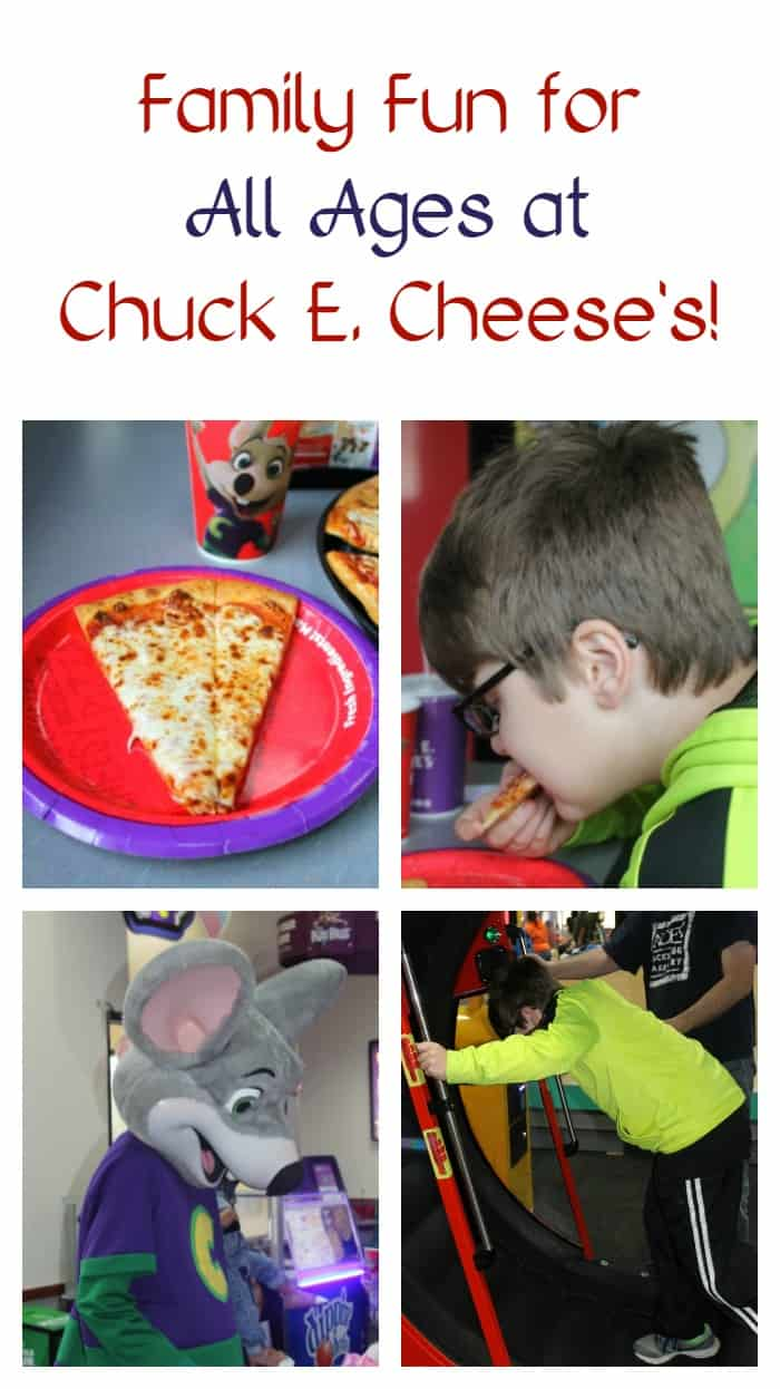 Unleash your inner kid at Chuck E. Cheese's on Veteran's Day! Active & retired military members get a free personal pizza! Check out details + see why Chuck E. Cheese's is fun for ALL ages! #ad