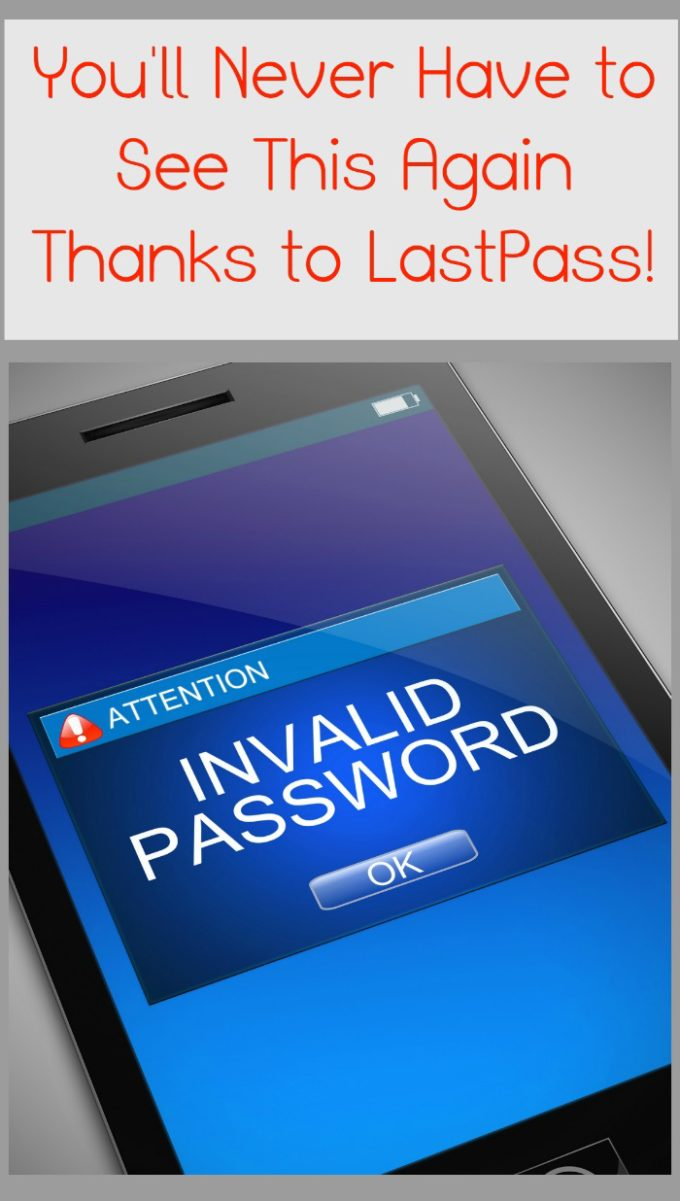Never forget another password again thanks to LastPass! Access it from any device any time! Check out my review!
