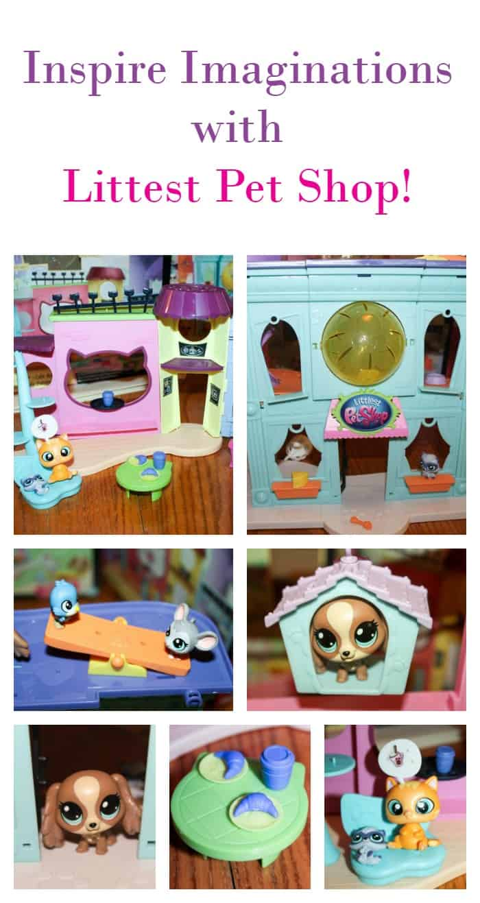 Surprise your little animal lovers & inspire their imagination this holiday season with playsets from Littlest Pet Shop!