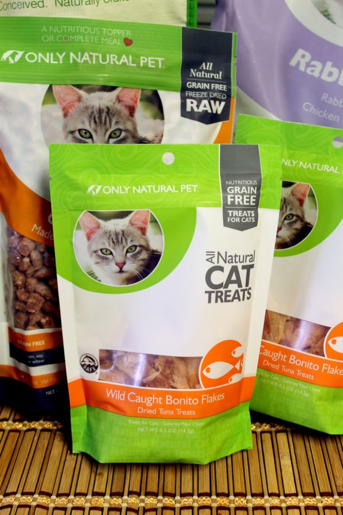All of my cats went nuts for these Wild Caught Bonito Flakes from Only Natural Pet at PetSmart!