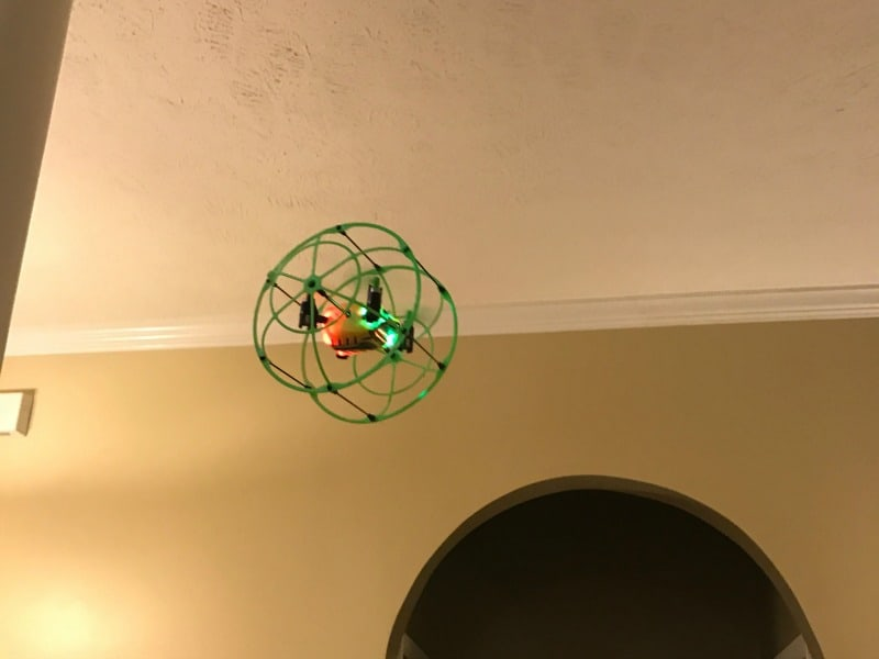 Odyssey Toys Turbo Runner Quadcopter Flying Drone Makes a Fun Gift for All Ages