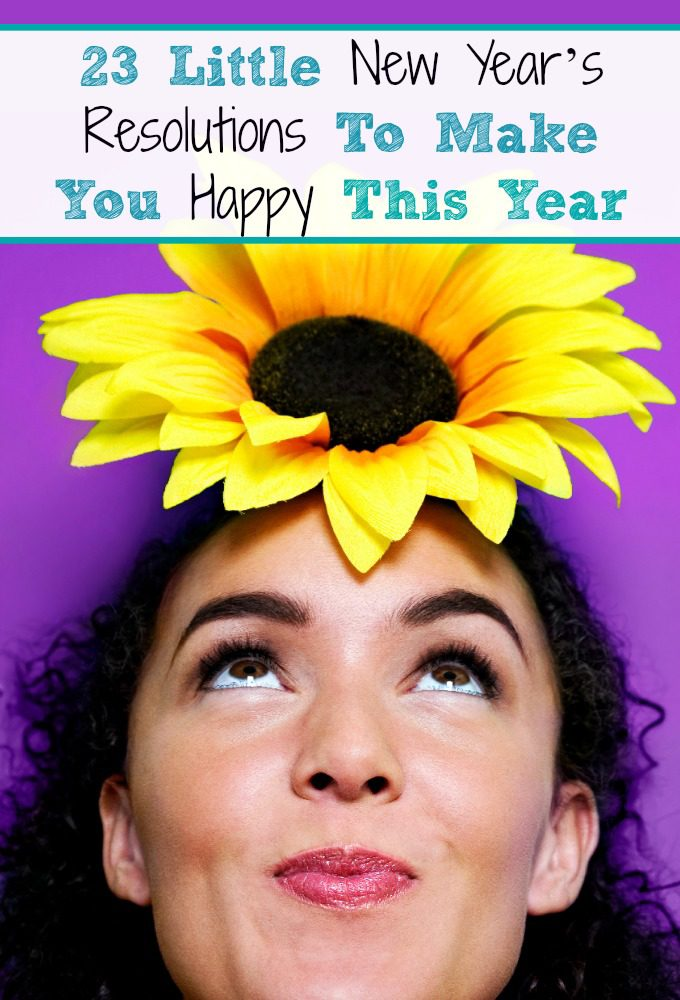 23 Little New Year's Resolutions To Make You Happy This Year