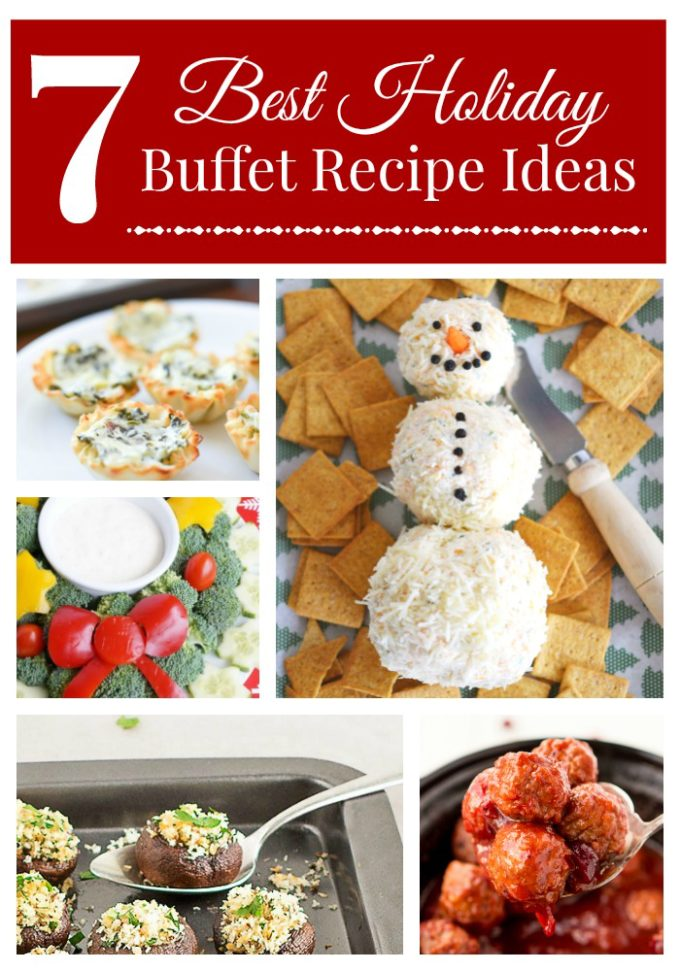 This list of the best holiday buffet recipes will stock your table full of easy and yummy Christmas food your guests will love! Get your menu ready with these picks that can make a delicious appetizer buffet or a full dinner!