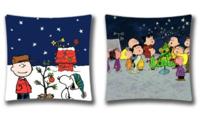 9 charlie brown christmas decorations to spread a little love charlie brown pillows - Charlie Brown Christmas Decorations
