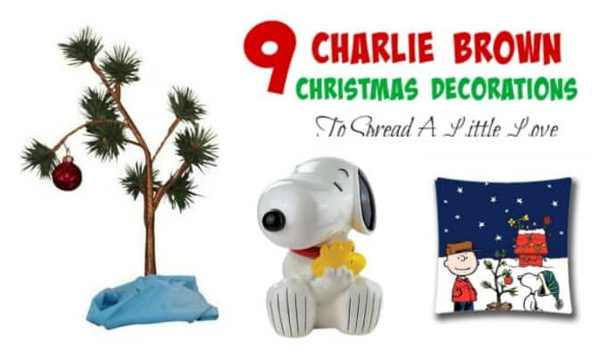 9 Charlie Brown Christmas Decorations To Spread A Little Love
