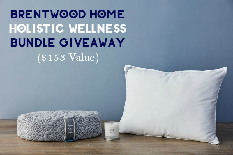 Enter for a chance to win a holistic wellness bundle from Brentwood Home, valued at $153! Plus grab a 10% off Brentwood Home coupon.