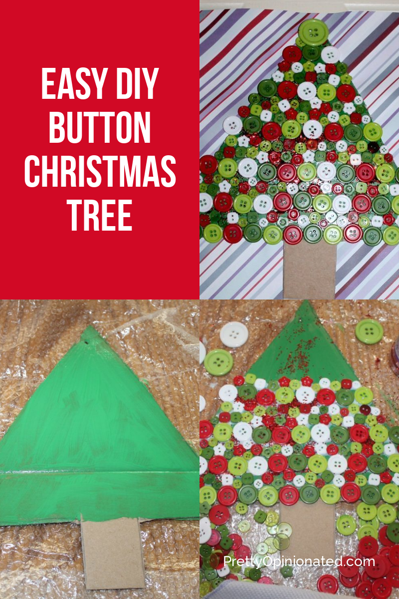 This DIY Button Christmas Tree craft is perfect for decorating those small spaces! Check out more decor ideas for when you're short on surface space!