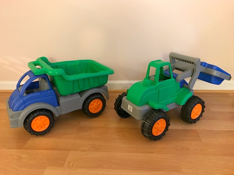 Gifts for Kids: Gigantic Dump Truck & Loader from American Plastic Toys Inc