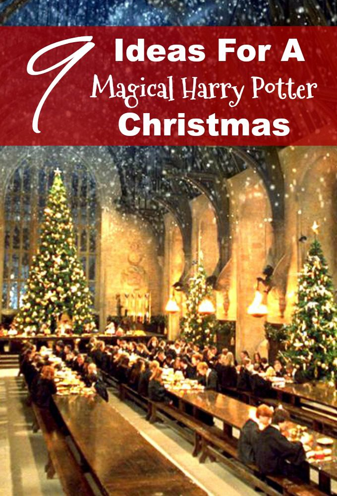 9 Fantastic Ideas To Have A Magical Harry Potter Christmas Pretty