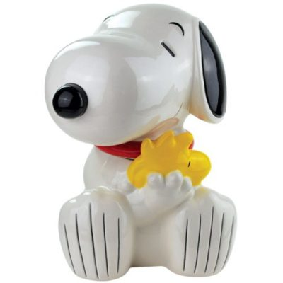 9 Charlie Brown Christmas Decorations To Spread A Little Love- Snoopy Cookie Jar
