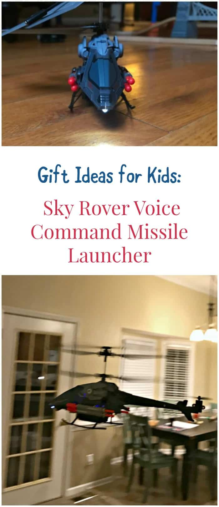Looking for a fun gift idea for kids? Let their imaginations take flight with the  Sky Rover Voice Command Missile Launcher!