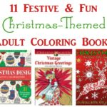 11 Festive & Fun Christmas Coloring Books for Adults