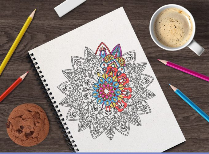 mandalas main image1a DIY a Cheap 100+Page Adult Coloring Book for $11 + Get $735 worth of Design Goodies for $1