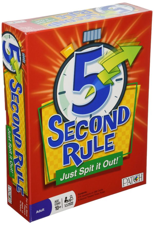 7 Geeky Board Games For The Best Cheap Night In: 5 Second Rule