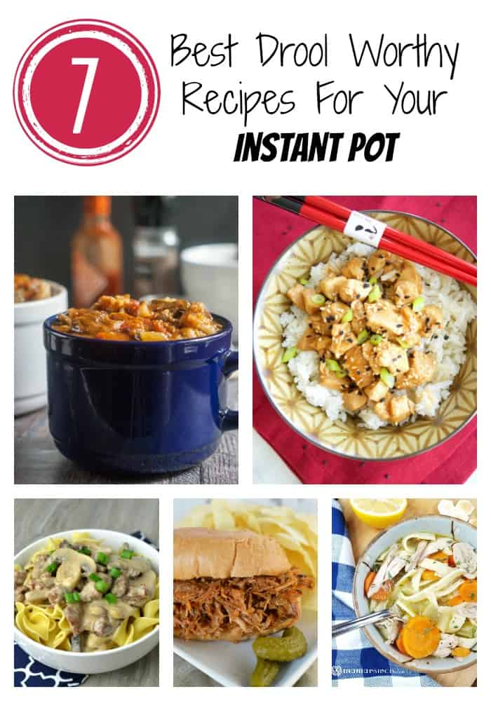 Check out these Instant Pot recipes full of delicious comfort food that will have scrumptious chicken, beef, soups and more in a flash!