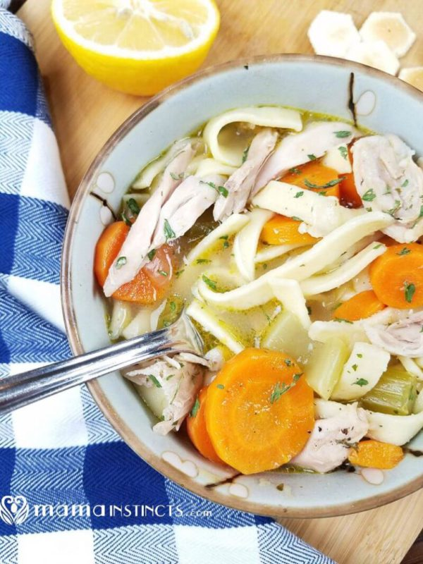 7 Best Drool Worthy Recipes For Your Instant Pot- Chicken Noodle Soup