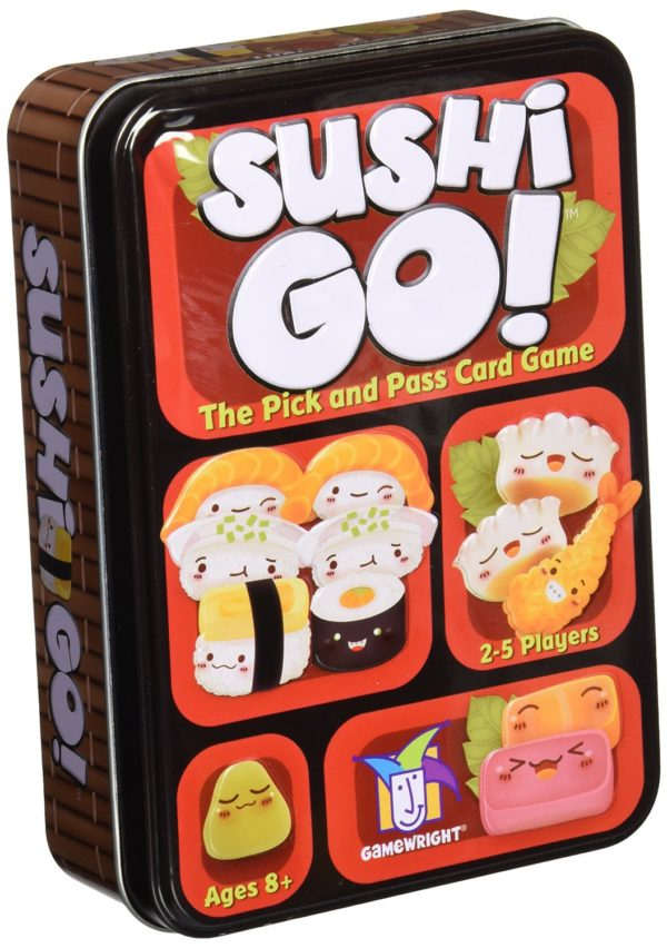 7 Geeky Board Games For The Best Cheap Night In: Sushi Go!