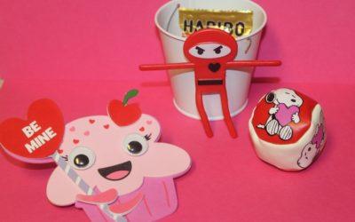 DIY Magnetic Valentine's Day Treat Pails for Kids