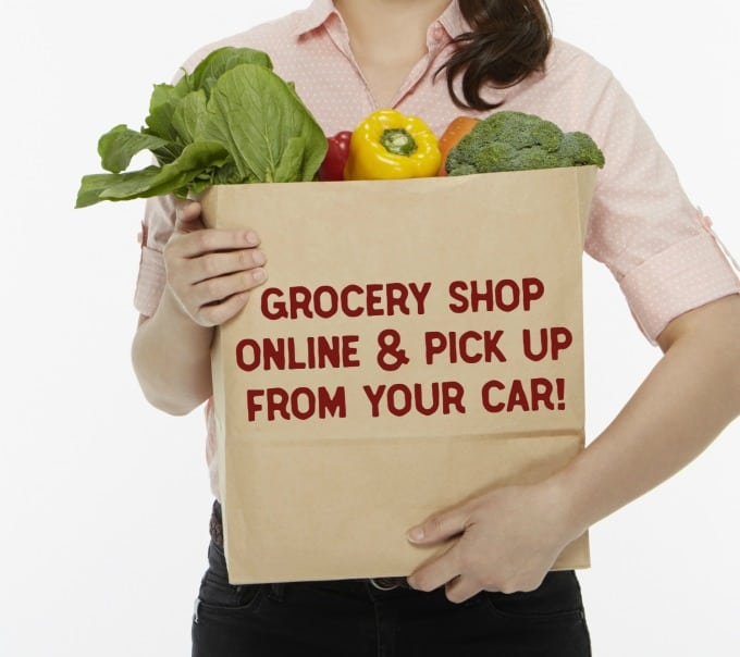 Shop for groceries from home in your jammies, then pick up at the curb with Walmart Grocery!