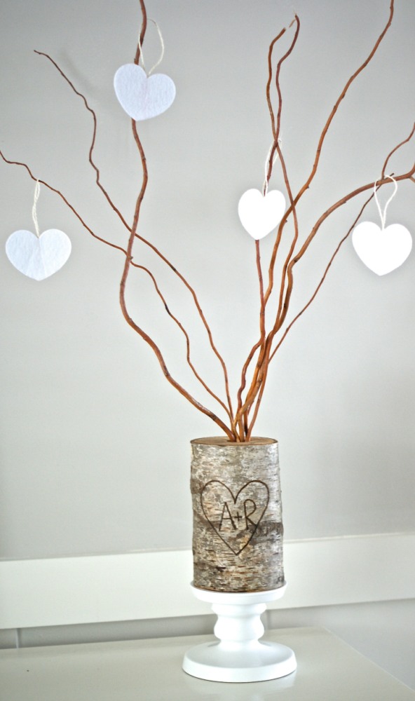 9 DIY Valentine's Day Decorations To Make Your Heart Beat: Family Tree DIY Project