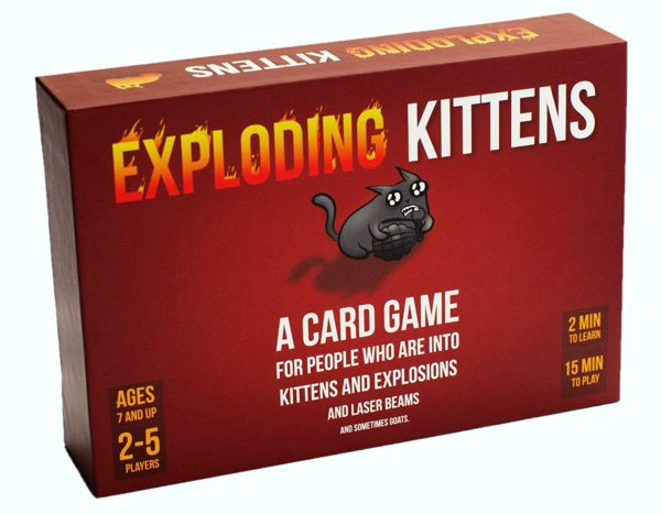 7 Geeky Board Games For The Best Cheap Night In: Exploding Kittens