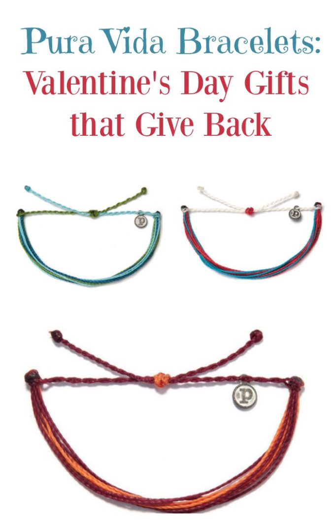 Looking for Valentine's Day gift ideas for her that give something back to others? These Pura Vida Bracelets aren't just absolutely beautiful, each one represents a different cause. They're a truly meaningful way to give jewelry, don't you think? Check them out!