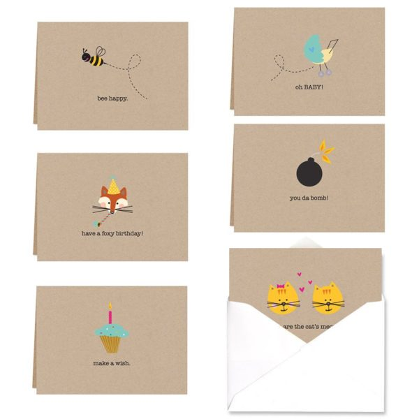 9 Gorgeous Stationery Sets That Will Make You Bring Back the Art of Letter Writing- Adorable Note Cards