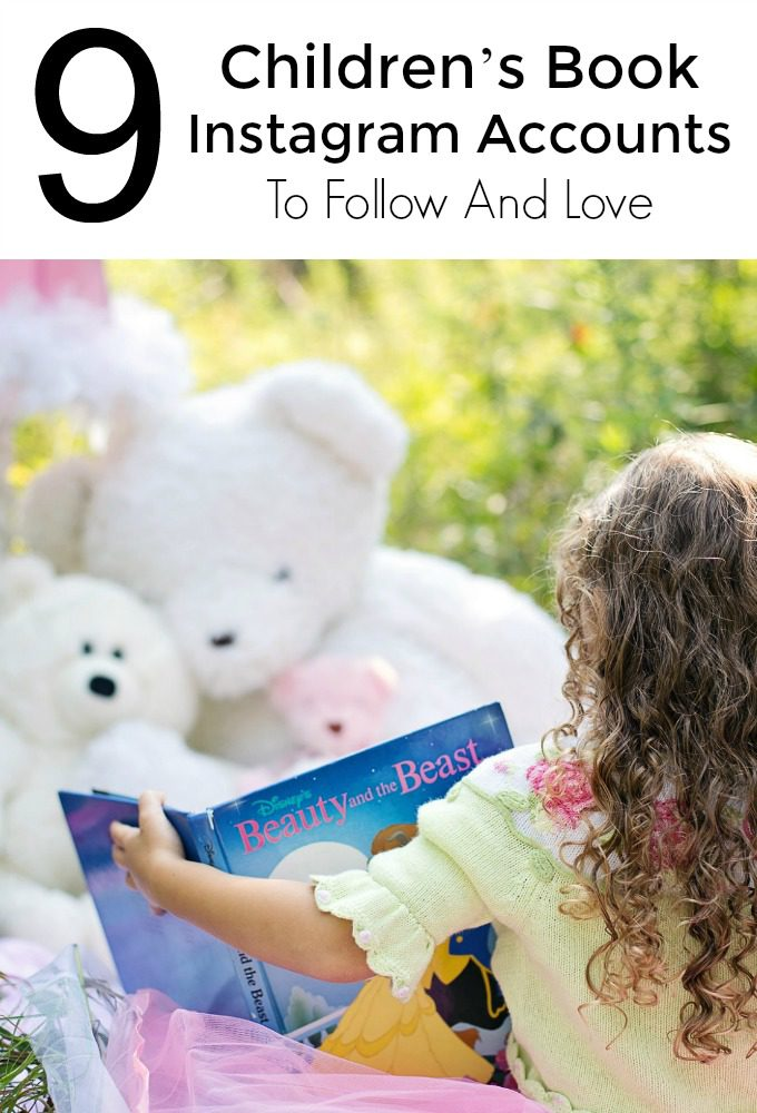 9 Children's Book Instagram Accounts To Follow And Love