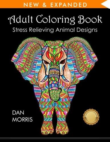 9 Stunning Adult Coloring Books With Animals You'll Love: Stress Relieving Animal Designs