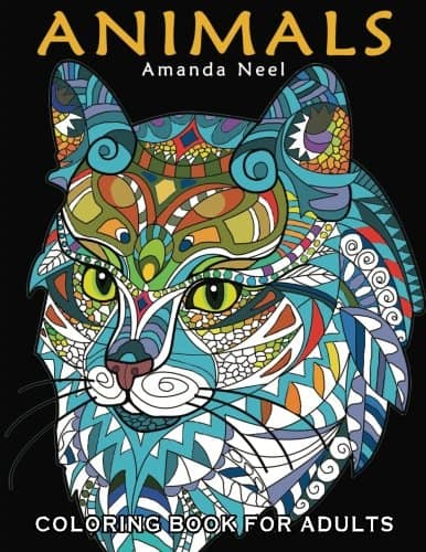 9 Stunning Adult Coloring Books With Animals You'll Love: Happy Coloring Animals