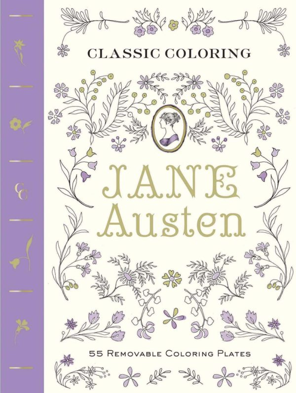 Jane Austen Coloring Book 7 Amazing Coloring Books For Grown Ups Based On Classic Novels