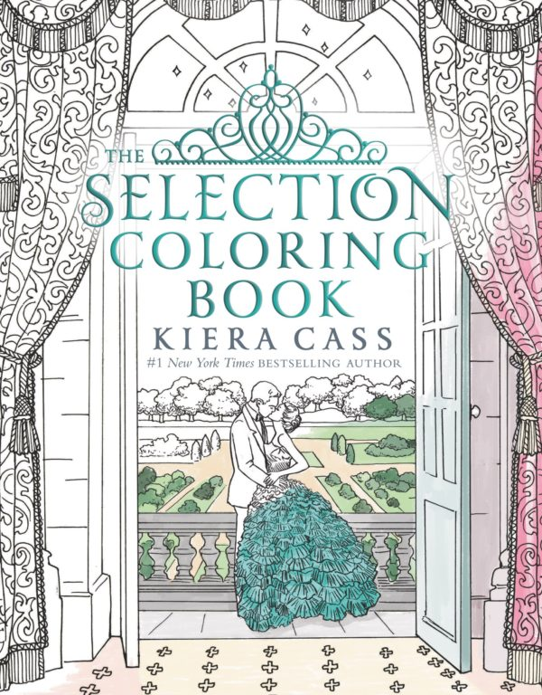 7 Amazingly Creative Adult Coloring Books Based On Young Adult Novels- The Selection Coloring Book