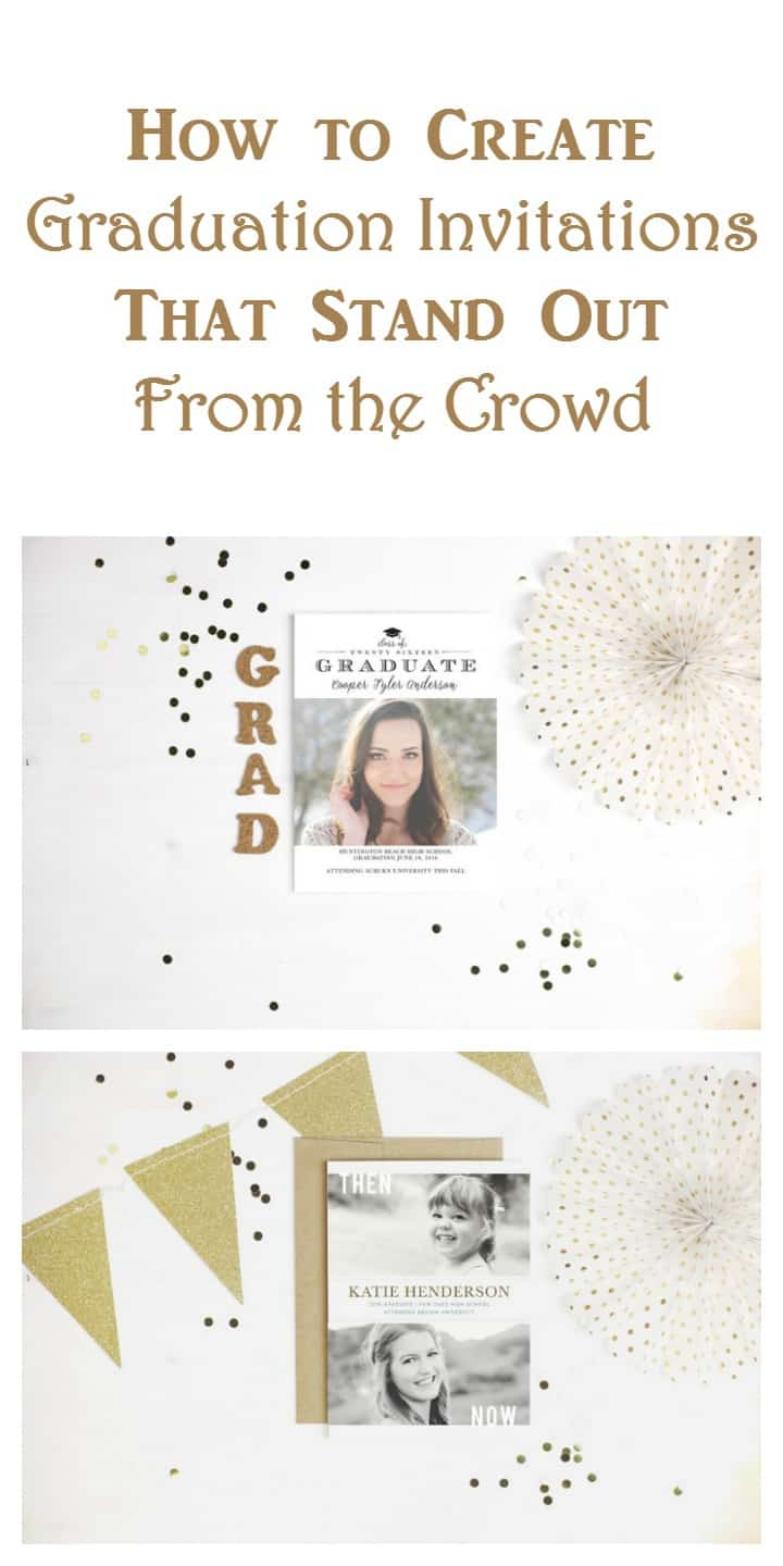 Make your graduation party invitations stand out from the crowd with complete custom personalization at Basic Invite!