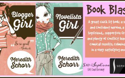 Blogger Girl and Novelista Girl Book Blast + Sephora GC Giveaway