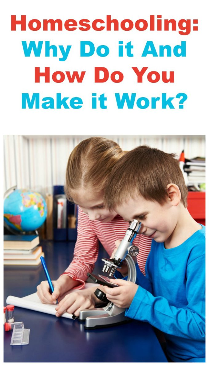 Why homeschool? People choose to do it for many reasons! Check out a few, plus how to make it work!