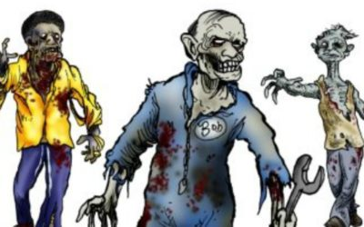 5 Adult Coloring Book Ideas For Everyone Who Loves Zombies