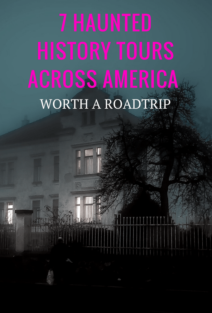 Get ready for scary ghost stories with these haunted tours across America for your next road trip! These scary night tours are fun for every getaway!