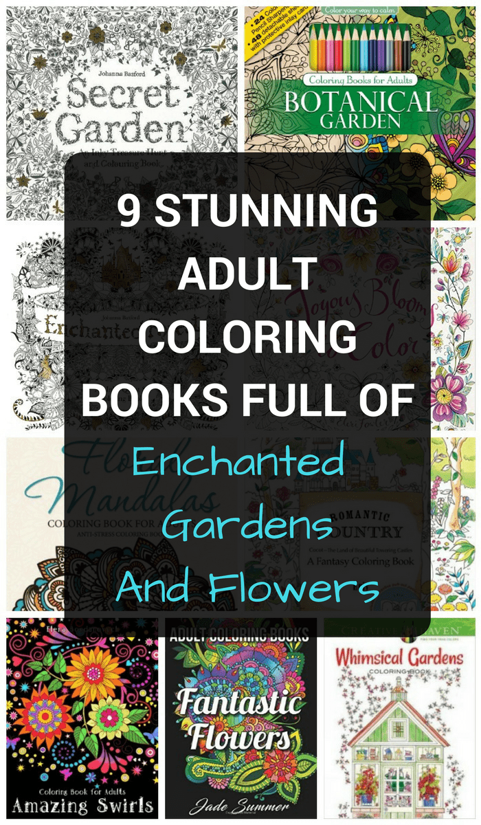 Looking for adult coloring books full of enchanted and secret gardens, and bursting with blooms? Melt stress and anxiety away with these gorgeous picks for grownups!