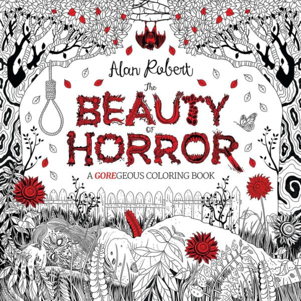 5 Adult Coloring Book Ideas For Everyone Who Loves Zombies: The Beauty of Horror