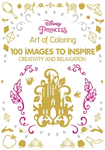 7 Fairytale Coloring Books For Adults That Will Melt Stress Away- Disney Princess