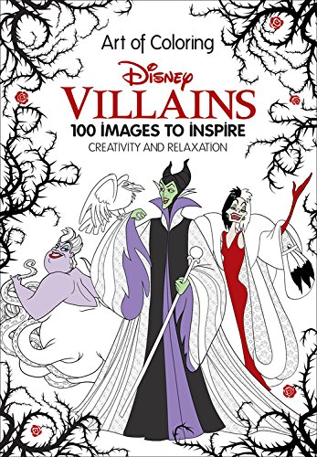 7 Fairytale Coloring Books For Adults That Will Melt Stress Away - Art of Coloring Disney Villains