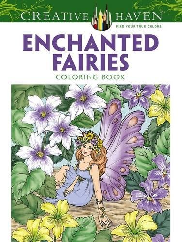 7 Fairytale Coloring Books For Adults That Will Melt Stress Away- Enchanted Fairies