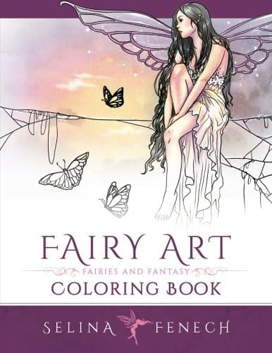 7 Fairytale Coloring Books For Adults That Will Melt Stress Away - Fairy Art