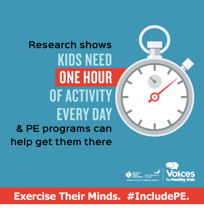 PE Infographic Minutes Stat Include PE 6 Skills Our Children Learn in Gym Class That Will Last Them a Lifetime