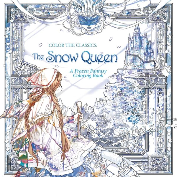 7 Fairytale Coloring Books For Adults That Will Melt Stress Away - The Snow Queen