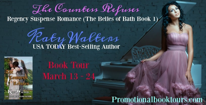 The Countess Refuses Book Tour (with Excerpt)