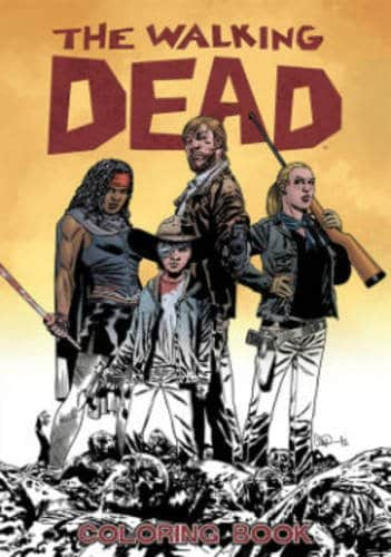 5 Adult Coloring Book Ideas For Everyone Who Loves Zombies : The Walking Dead