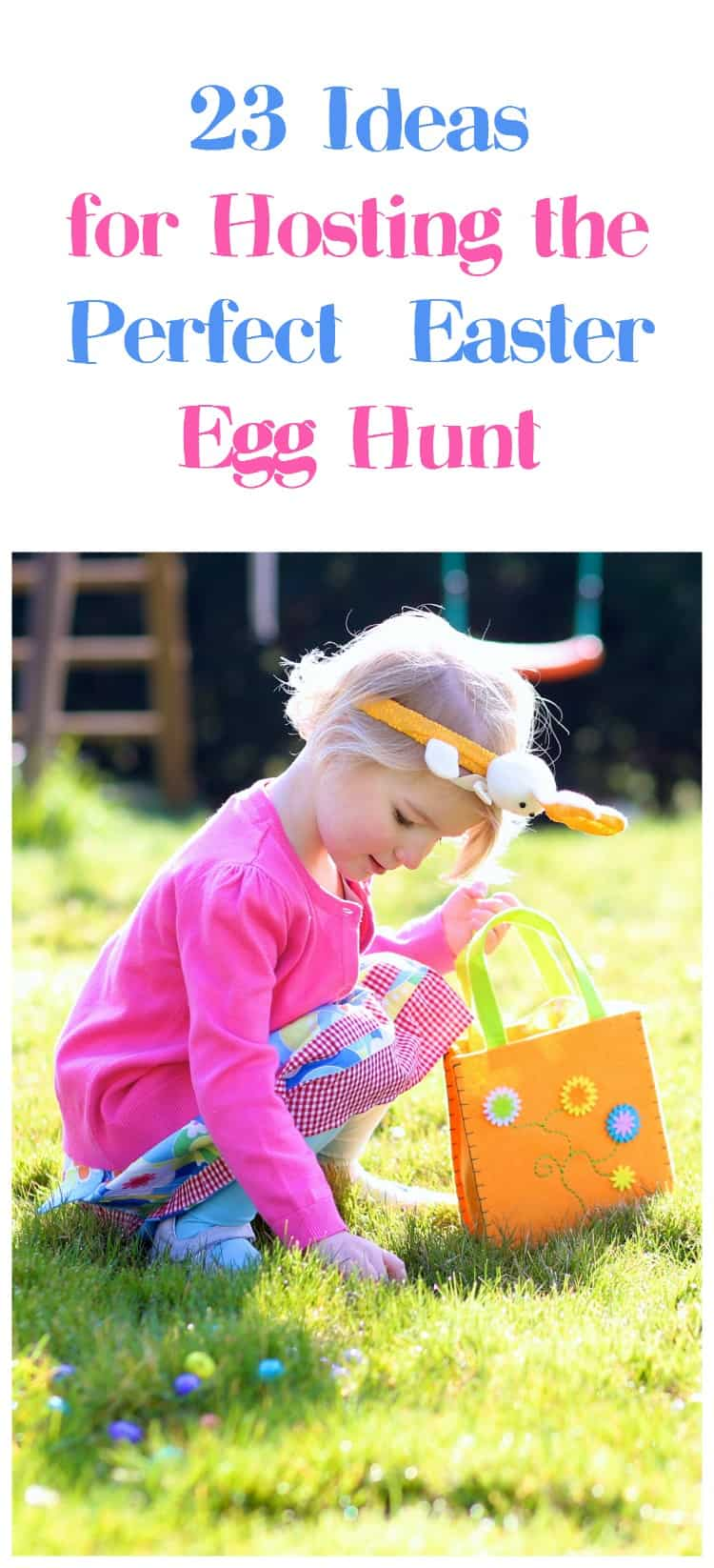 Planning an Easter egg hunt for kids? Check out 23 ideas & supplies to help you make the most memorable hunt ever!